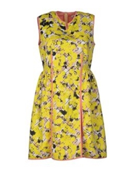 Calla Short Dresses Yellow