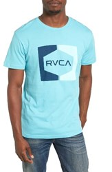 Rvca Men's Invert Hex Graphic T Shirt