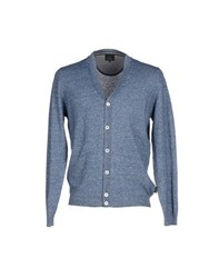 Henry Cotton's Knitwear Cardigans Men Blue