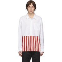 Visvim Red Stripe Talbot P.O. Shirt