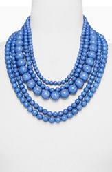 Baublebar Women's 'Globe' Multistrand Beaded Necklace Pastel Blue