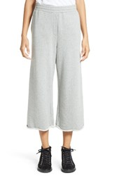 Alexander Wang Women's T By Crop Wide Leg Sweatpants