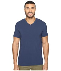 Kenneth Cole Short Sleeve V Neck Baltic Men's Short Sleeve Pullover Blue