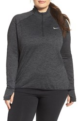 Nike Plus Size Women's Therma Sphere Element Quarter Zip Pullover