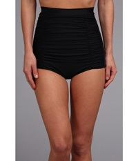 Unique Vintage Monroe Bikini Bottom Black Women's Swimwear