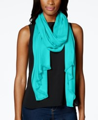 Inc International Concepts Satin Wrap Only At Macy's Turquoise