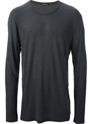 T By Alexander Wang Longsleeve T Shirt Grey