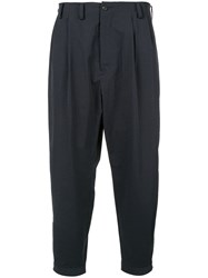 08Sircus Tapered Trousers Blue