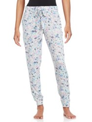 Roudelain Special Touch Splatter Print Sleep Pants Space Dye