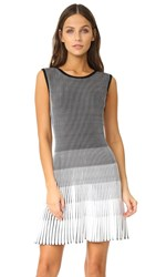 Shoshanna Laidley Dress Jet Optic
