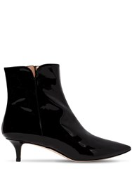 Alexander White 30Mm Orla Patent Leather Ankle Boots Black