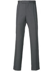 Yang Li Tailored Fitted Trousers Grey