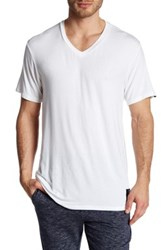Psycho Bunny Lounge Solid Tee White