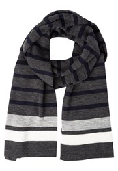 Your Turn Scarf Grey Navy