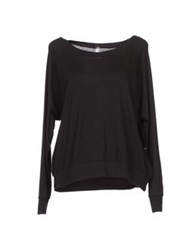 American Apparel Long Sleeve Sweaters Black