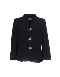 Musani Couture Blazers Dark Blue