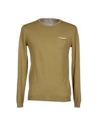 Massimo Rebecchi Knitwear Jumpers Men Military Green