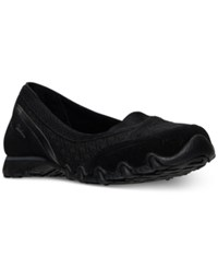 Skechers Women's Relaxed Fit Bikers Skim Casual Walking Sneakers From Finish Line Black