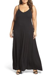 Loveappella Plus Size Women's A Line Maxi Dress
