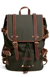 Men's United By Blue 'Derby Tier' Backpack Green Moss