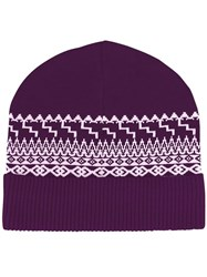 Opening Ceremony Beanie Pink Purple