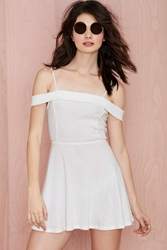 Nasty Gal After Party Vintage Anette Knit Dress