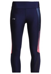 Under Armour Fly By Tights Dark Blue