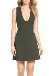 French Connection Women's Olitski Fit And Flare Dress