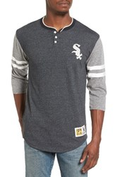 Mitchell And Ness Men's Home Stretch Chicago White Sox Henley