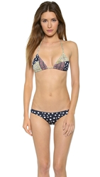 Tigerlily Galium Patchwork Bikini Top