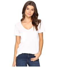 Culture Phit Adley Short Sleeve Tee With Pocket White Women's T Shirt