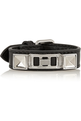 Proenza Schouler Ps11 Leather And Silver Tone Bracelet