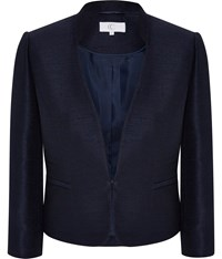 Cc Shimmer Tailored Jacket Navy