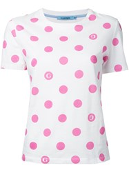 Guild Prime Polka Dot T Shirt White