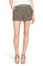 Women's James Jeans High Rise Pleated Shorts
