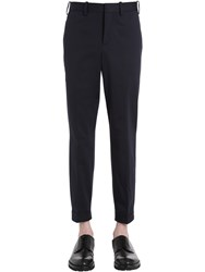 Neil Barrett Tech Cotton Gabardine Trousers