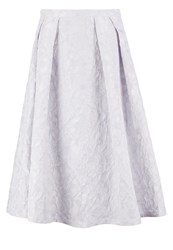 Chi Chi London Jessica Pleated Skirt Lilac Purple