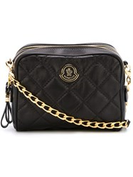 Moncler Quilted Cross Body Bag Black