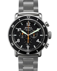 48Mm Limited Edition Black Blizzard Watch Shinola
