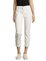 Hudson Jeans Solid Five Pocket Pants White