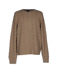 Ralph Lauren Purple Label Sweaters Khaki