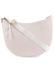 Borbonese Luna Shoulder Bag Neutrals