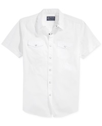 American Rag Anouk Solid Short Sleeve Shirt