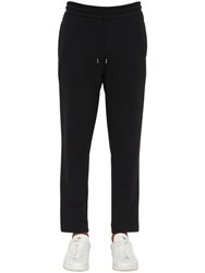 Moncler Cotton Jersey Sweatpants Black