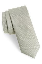 The Tie Bar Union Solid Silk Sage Green
