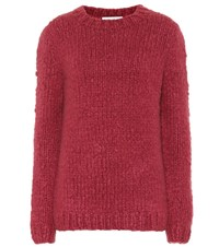 Gabriela Hearst Kimber Cashmere Sweater Red