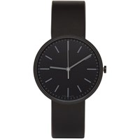 Uniform Wares Black Leather M37 Watch