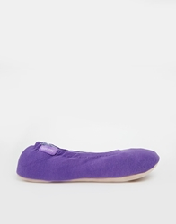 Totes Mauve Stretch Ballet Slippers Purple