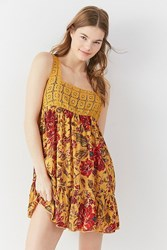 Out From Under Thalia Tiered Slip Multi