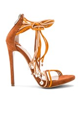 Tony Bianco X Becandbridge Alexis Heel Burnt Orange